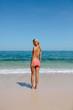 Beautiful woman in bikini at the beach