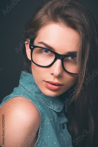 Sexy babes with glasses