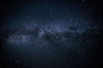 Naklejka The Milky Way. Our galaxy. Long exposure photograph