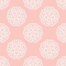 Seamless Vector Baroque Pattern