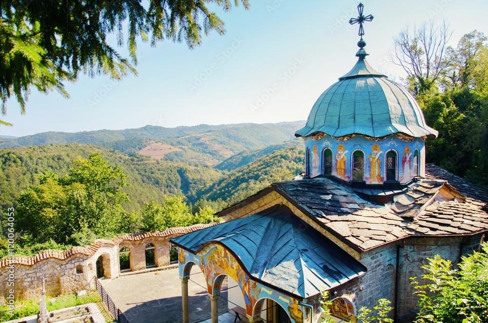 Fototapety, obrazy: Sokolsky Monastery in Bulgaria, Gabrovo, 2016 August,27