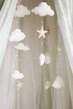 Picture Of Pillow Stars And Clouds
