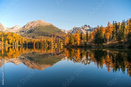 Szczyrbskie Pleso Tatra Mountains Slovakia ( Štrbské pleso )