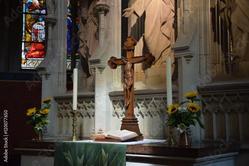 Fotografie, Obraz  Schlosskirche Altar
