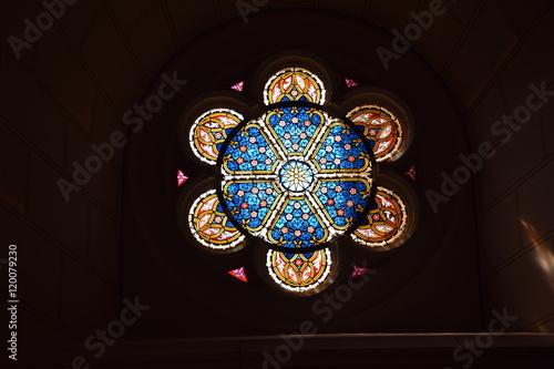 Fotografie, Obraz  Glasfenster Schlosskirche Wittenberg
