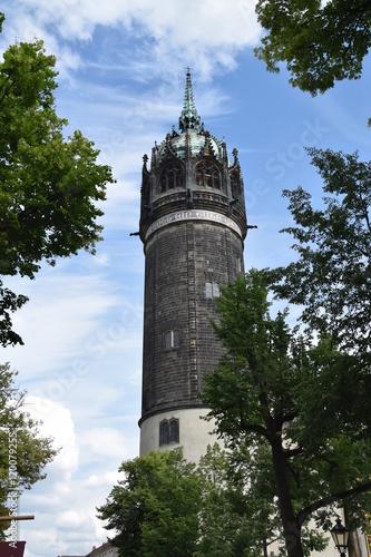 Fotografie, Obraz  Schlosskirche Lutherstadt Wittenberg