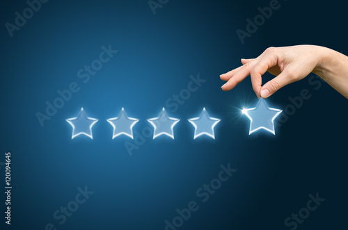 Customer review give a five star