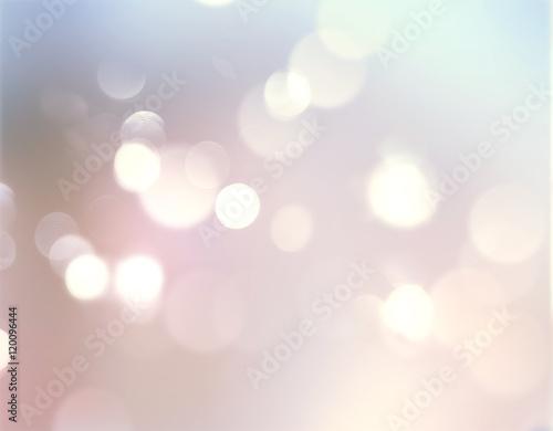 Fototapeta Glowing blurred holiday illustration background. obraz na płótnie