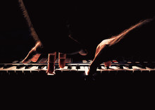 Playing A Piano Or Synth