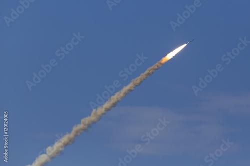 Photo Anti-aircraft missile