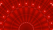 Abstract Red Curtains Moulin R...