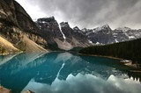 Fototapeta Nature - Lake Moraine, Banff