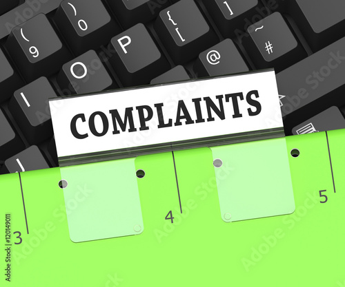 Complaints File Indicates Dissatisfied Customers Rendering By Stuart Miles