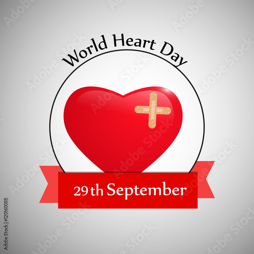 Fotografie, Obraz  World Heart Day Background