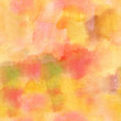 Seamless abstract pattern; pastel yellow and pink watercolor