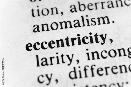 Valokuva  Eccentricity