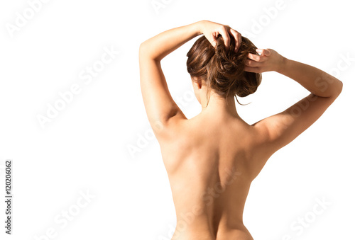 Back woman on Woman gets