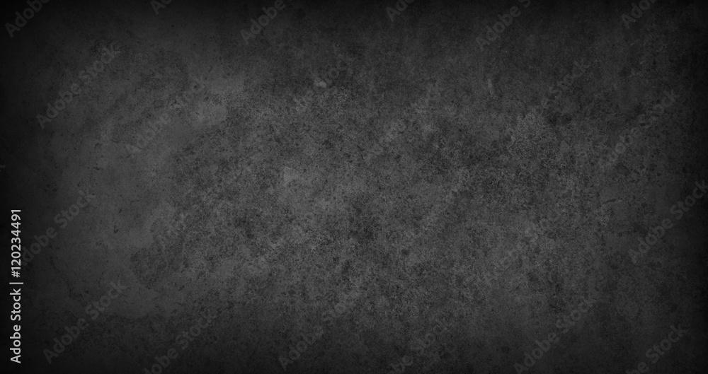Fototapety, obrazy: Blank marble texture dark background