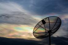 Iridescent Pileus Cloud At Dur...