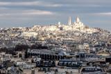Fototapeta Paryż - Basilique du Sacré-Cœur, Montmartre, Paris