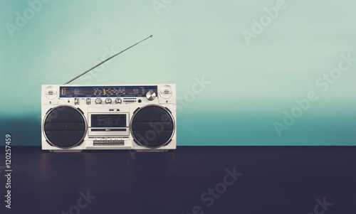 Photo  Retro music header