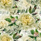 Vintage floral seamless watercolor pattern - 120266676