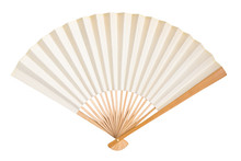 Blank Traditional Folding Fan ...