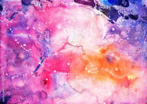 abstrakt-rozowa-i-purpurowa-recznie-robiony-akwareli-tekstura-marmoryzacja-tlo