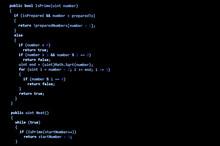 Programming Code Written In C Language Syntax