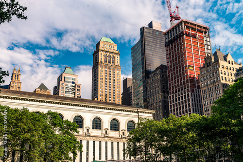 Fotografie, Tablou  Cityscape of New York City
