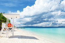 Pristine Waters And White Sand...