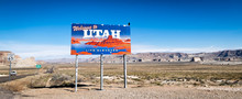 Welcome To Utah Billboard On H...