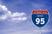 Interstate Between Miami And H...