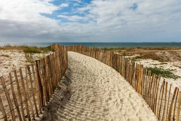 Fototapeta Plaża w Carnac, Bretania, Francja