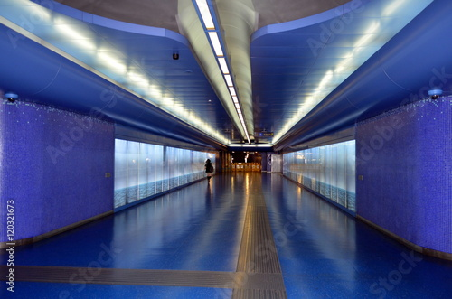 U-Bahn-Station Toledo in Neapel - Buy this stock photo and explore
