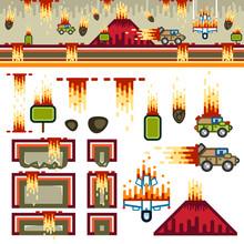 Armageddon Flat Game Level Kit