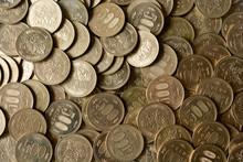 Japanese 500 Yen Coins