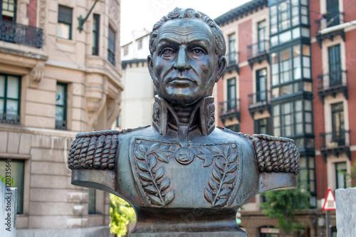 Cuadros en Lienzo Monumento a Simón Bolívar Bilbao Spanien Nordspanien Asturien (Asturias)