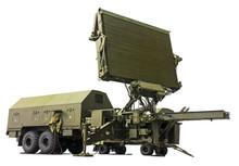Modern Military Radar Station