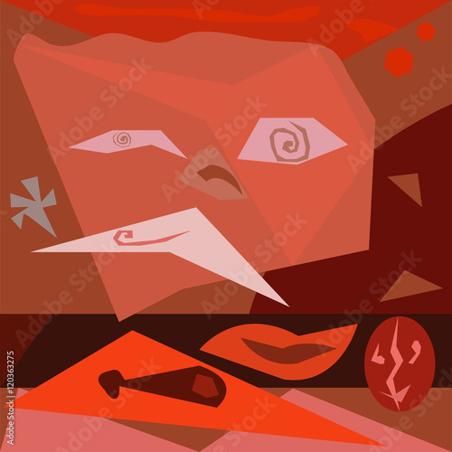 Fotografía  Abstract colorful background - Eps10 vector graphics and illustration
