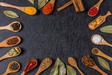 インドのスパイス集合写真 Spice India Dish Of The Curry