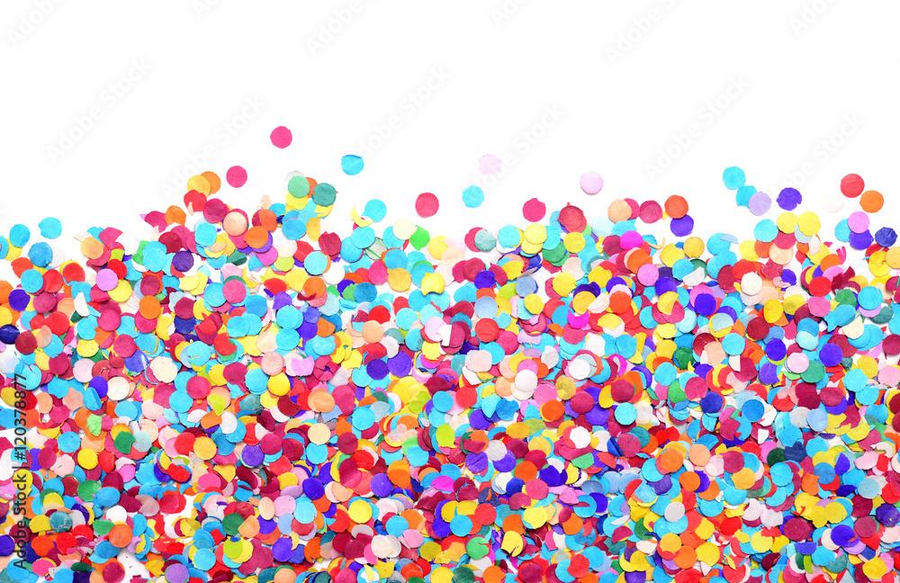 Fototapeta confetti - obraz na płótnie