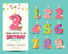 Birthday Anniversary Numbers C...