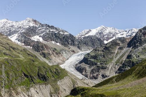 Printed kitchen splashbacks Glaciers Gepatschgletscher im Kaunertal