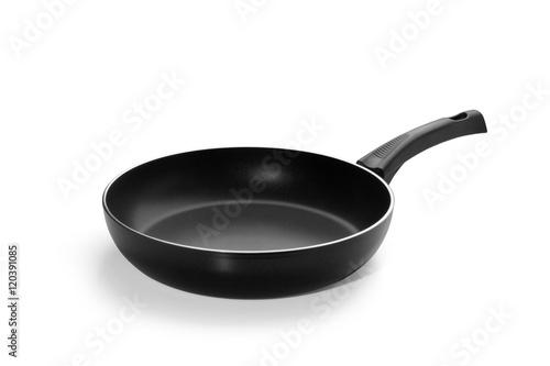 Obraz na plátně Frying pan isolated on white background