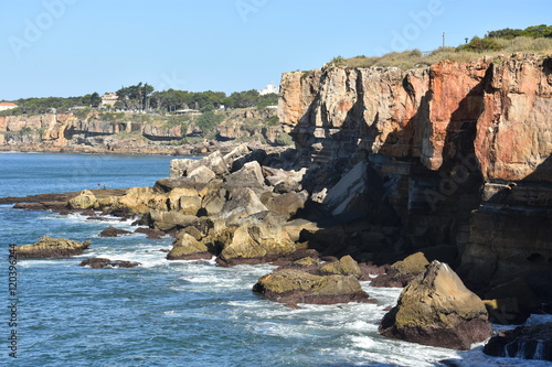 Photo  Boca do Inferno (Hell's Mouth) in Cascais, Portugal