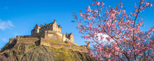 Edinburgh Castle, Scotland, Wi...