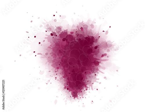 Fotografía  art grape splash