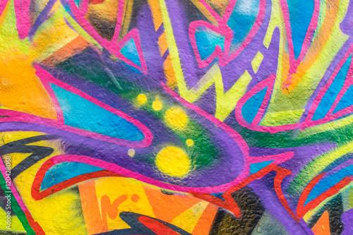 Foto op Aluminium Graffiti Graffiti World