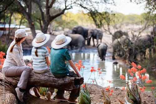 Family safari - fototapety na wymiar
